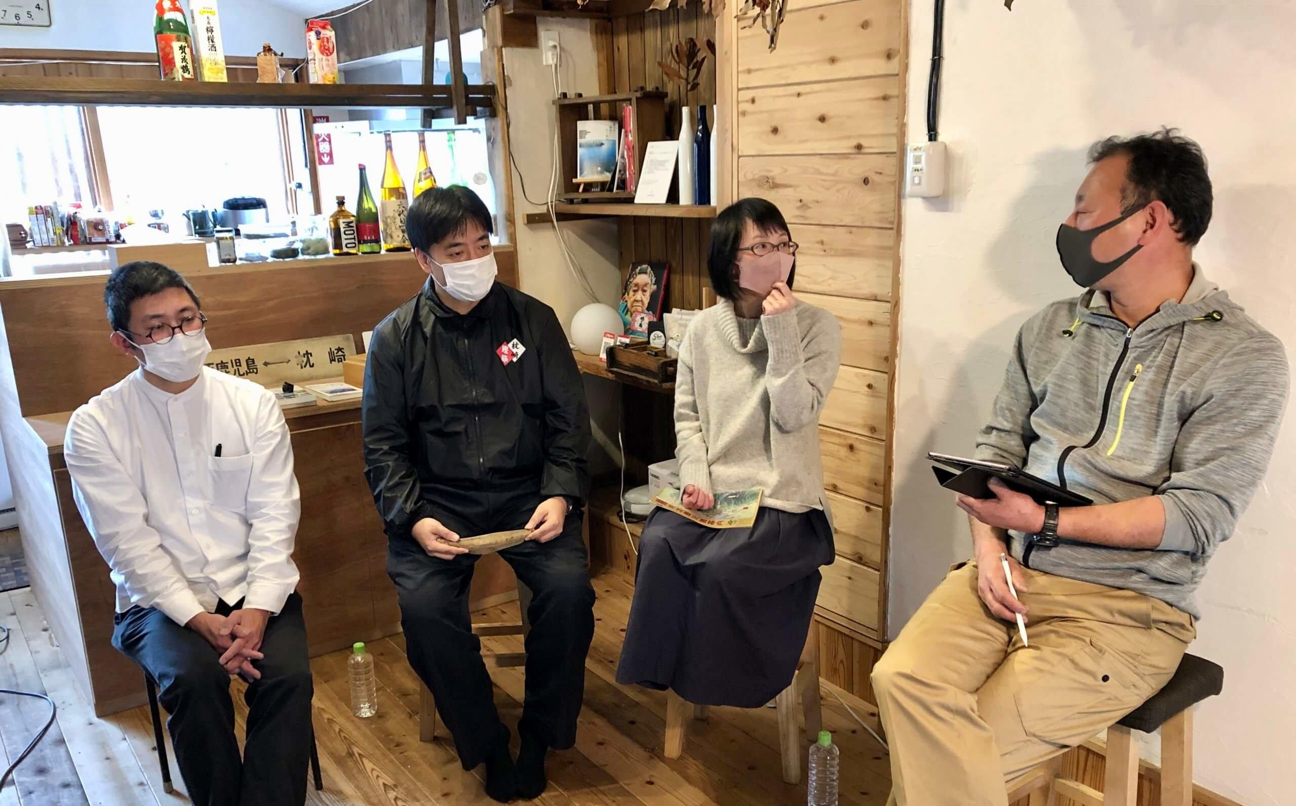 ローカル鉄道と地域の相乗効果づくり 田中輝美さんオンライン講演会・トークセッションが開催されました 頴娃おこそ会 乗りものP